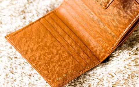 二つ折り財布レディース